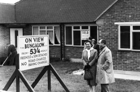 1950s home purchase mortgage appraisal
